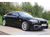 2010 BMW 5 Series 3.0 530d M SPORT PACK, FSH, SATNAV,WARRANTY, AUTOMATIC, PX WELCOME, LOW MILES