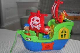 Little Tikes Pirate Ship with figures