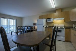 #1528 Furnished 2 Bedroom Condo in Royal Oaks Manor$1400 inc.H/W