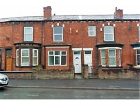 620 Liverpool Road, 2 bed terraced house with DG & GCH. DSS applicants welcome. NO APP FEES. EPC C.
