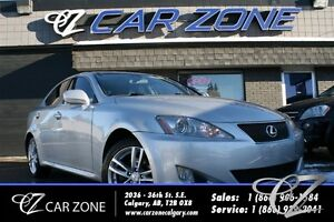 2008 Lexus IS 250 AWD, PADDLE SHIFT, SERVICED