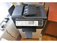 HP Officejet Pro L7590 All-In-One Inkjet Printer, Scanner, Copier, Fax
