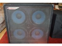 Ashdown Bass Cabinet 4X10 With Cover