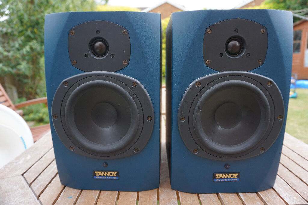 Tannoy Reveal Active Nearfield Monitors Speakers