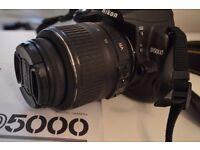 Nikon D5000 DSLR + Nikon VR Lens