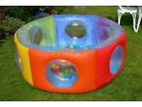 Childrens Dome Pool With 200 Plastic Play Balls For Sale