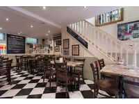 Washer Up and Assistant Chef required for Busy Cafe/Restaurant in Chelsea - ONLY Day Shifts