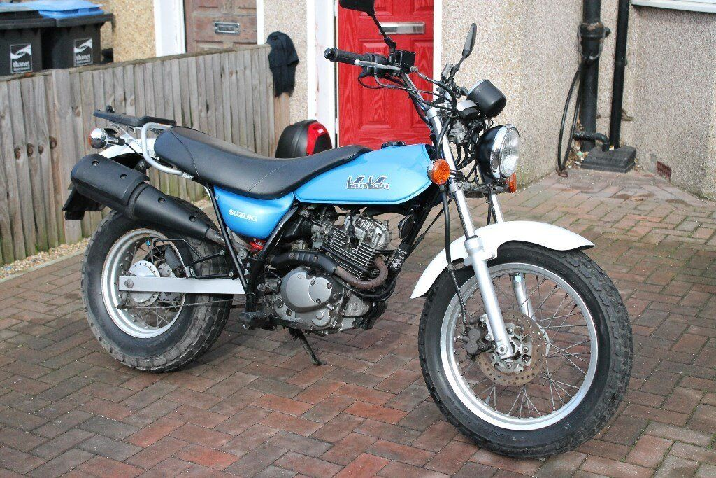 suzuki van van 125cc geared motorbike learner motorcycle. Black Bedroom Furniture Sets. Home Design Ideas