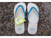 REEFS, Brand new with tags. Ladies UK Size 7 (US 9). £5, collect from Torquay or can post.