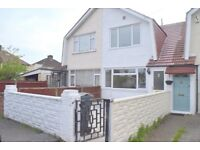 THREE DOUBLE BEDROOM TERRACE HOUSE PART FURNISHED EXCELLENT TRANSPORT LINKS PRIVATE GARDEN!