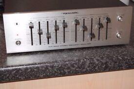 REALISTIC STEREO EQUALIZER CAN BE SEEN WORKING