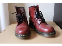 Dr Martens size 6, cherry red