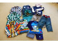 BOYS BUNDLE OF CLOTHES AGE 2-4 MAINLY NEXT