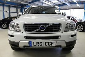 Volvo XC90 D5 R-DESIGN AWD [1 OWNER/NAV/XENONS/LEATHER/20''/7 SEATS] (ice white) 2011