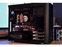 Gaming PC [ i7-6700K,KrakenX52,16GB,Z270,MSI GTX1070,M.2 500GB SSD,EVGA GOLD PSU... ]