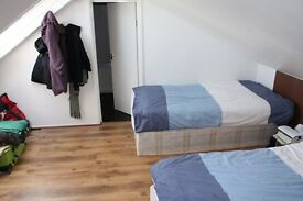 COMFORTABLE DOUBLE OR TWIN ROOM