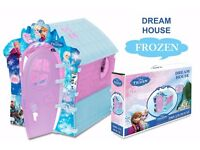 Disney Frozen Children's PlayHouse Dream house Wendy House Outdoor/Indoor -Brand New