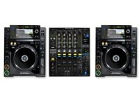 x2 CDJ-2000 + DJM-900 Available to Rent