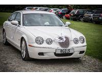 Jaguar S Type 3 litre petrol saloon car - executive or wedding car