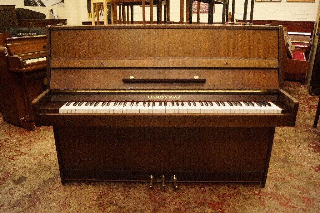 Modern style upright piano - Tuned & UK
