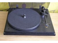 Revolver Turntable By SEE With Mission 774 Tone Arm, Audio Technica Stylus + Pig