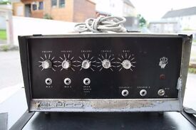 Rare 1960's Elpico AC88 Valve/Tube PA Amp, un-tested, sold as seen, offers accepted