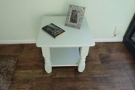 Very Solid Pine Coffee Table, Painted in Lovely Laura Ashley Eau De Nil