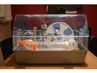 Large Hamster/Rat/Rodent Cage w/ Exercise Ball