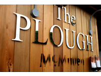 Full Time Assistant Manager - Up to £23k - Live Out - The Plough, Cuffley, Hertfordshire