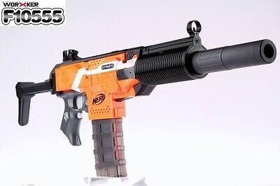 Worker Mod MP5 Tailor Nerf N-strike Elite Toy STF Modular Front Tube Black