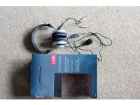 LOGIK wired headset