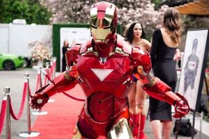Iron Man for hire!!