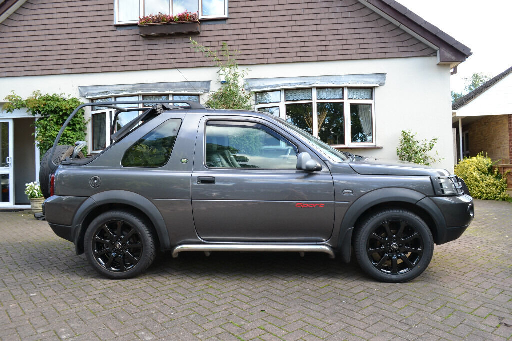 land rover freelander td4 sport premium 3 door hard soft. Black Bedroom Furniture Sets. Home Design Ideas