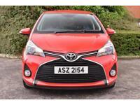 Toyota Yaris VVT-I ICON (red) 2017-01-31