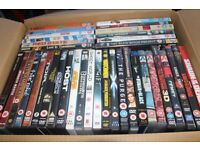 Collection of 37 Assorted Films on DVD and Blu Ray
