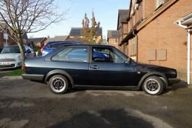 VW Mk2 Polo Saloon CL. Immaculate example with brand new MoT