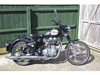 Royal Enfield Classic C5 EFI. 2014. New MOT, many extras and spares.
