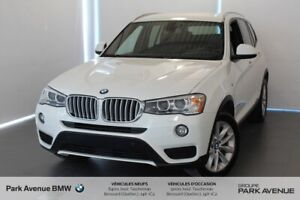 2016 BMW X3 xDrive28i / Support lombaire / Cam / Bluetooth