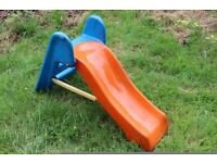 Kids slide. Used - good condition. Blue and orange.