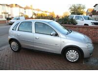 Vauxhall Corsa 2006, silver, only 26k miles, Mot until Jul, 5 doors, tidy & reliable