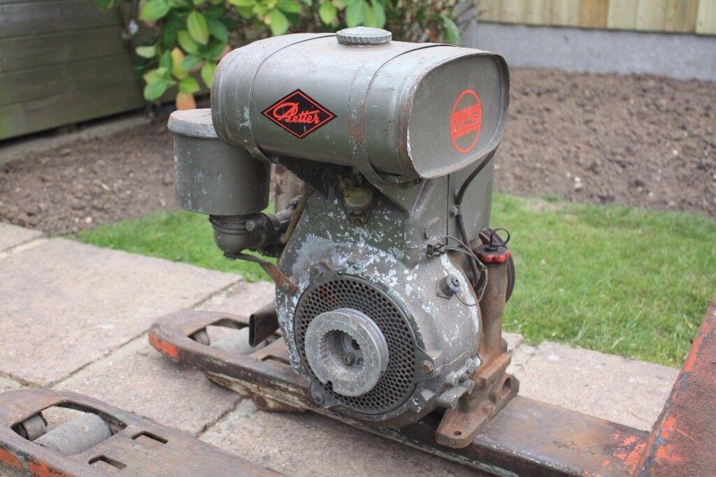 Mag petrol engine