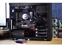 Gaming PC [ i7-6700K,KrakenX52,16GB,Z270,GTX1060,M.2 500GB SSD,EVGA GOLD PSU... ]