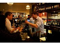BAR STAFF NEEDED - CENTRAL LONDON