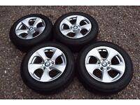"16"" BMW 3 Series F30 F31 Alloy Wheels Nearly New Bridgestone 205/60R16 Run Flat Tyres BMW6795805"