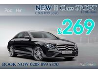 NEW Mercedes E Class , PCO car hire, PCO rental, PCO hire, PCO car rental, Uber ready car, PCO, Uber