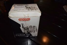 Apollo Stainless Steel Cocktail Set
