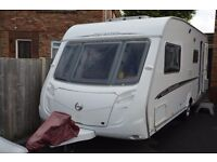 SWIFT CHALLENGER 530 / 4 BERTH CARAVAN 2007 WITH FULL AWNING AND A REMOTE MOTOR MOVER