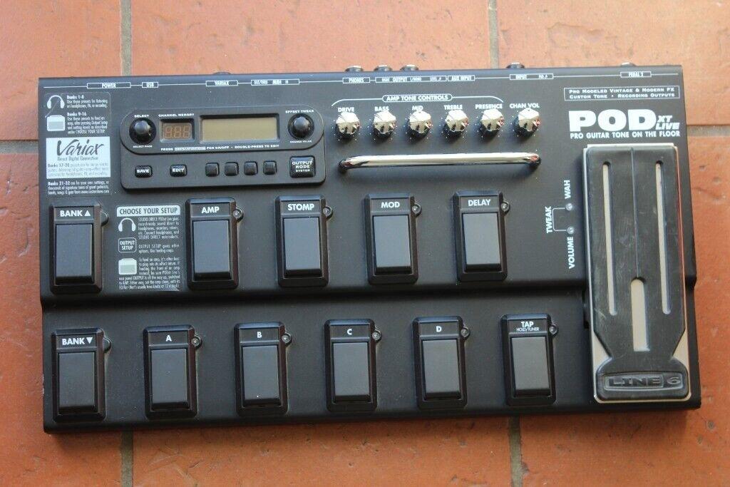 Line6 POD XT Live Guitar Effects Pedal Line 6 | in Wellingborough,  Northamptonshire | Gumtree
