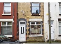 28 Gorst St, Anfield.2 bed terrace with through living room, gas central heating and double glazing.