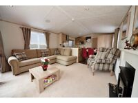 Modern Static Caravan with SITE FEES. Clitheroe Lancashire. Pet friendly